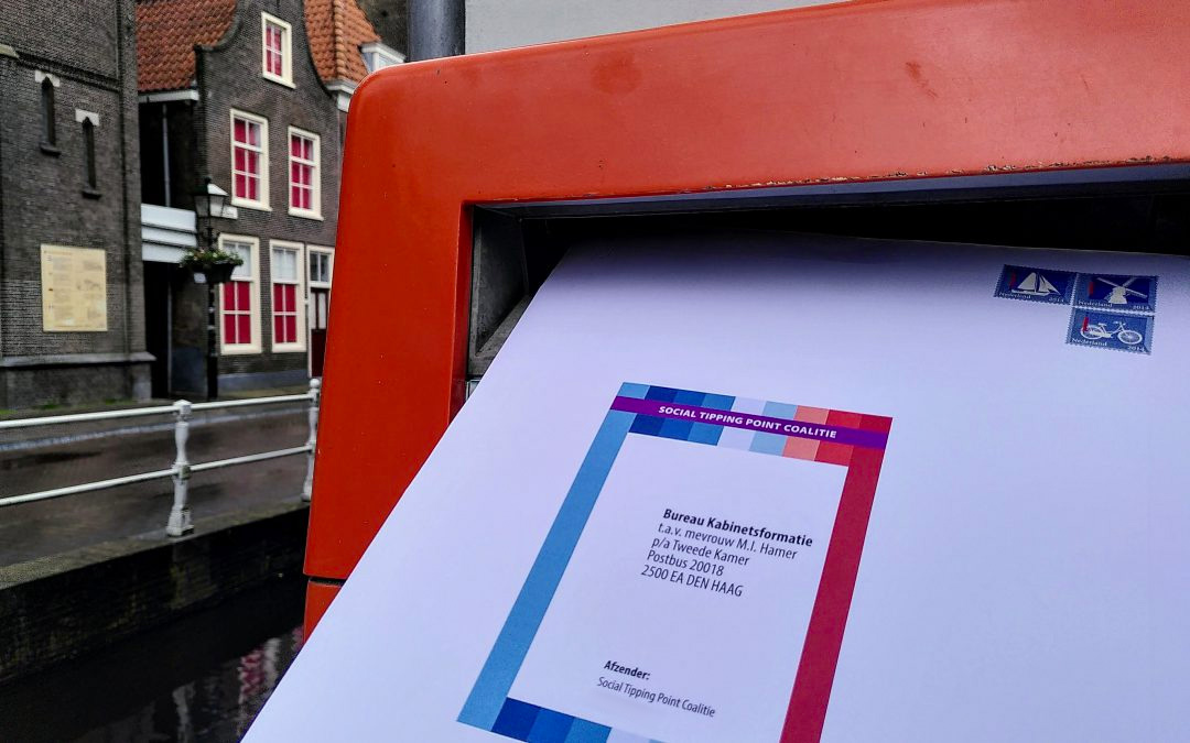 Lifebuoy for new Dutch cabinet: 'social tipping points!'
